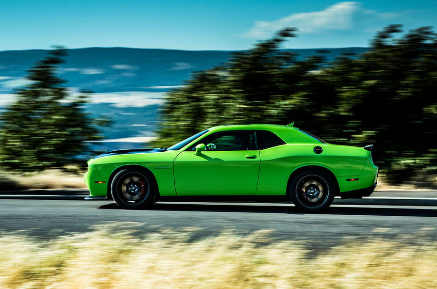 Challenger SRT Hellcat side profile