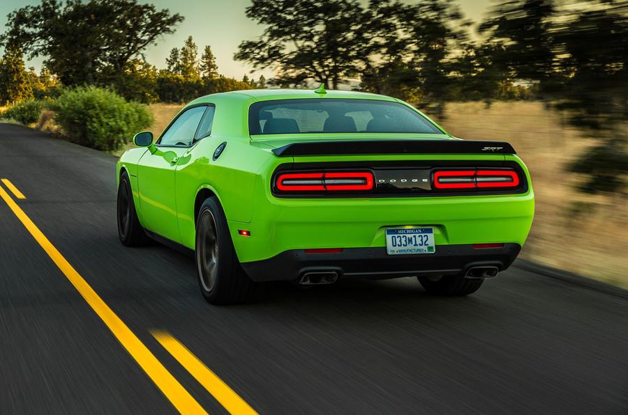 Dodge Challenger SRT Hellcat rear