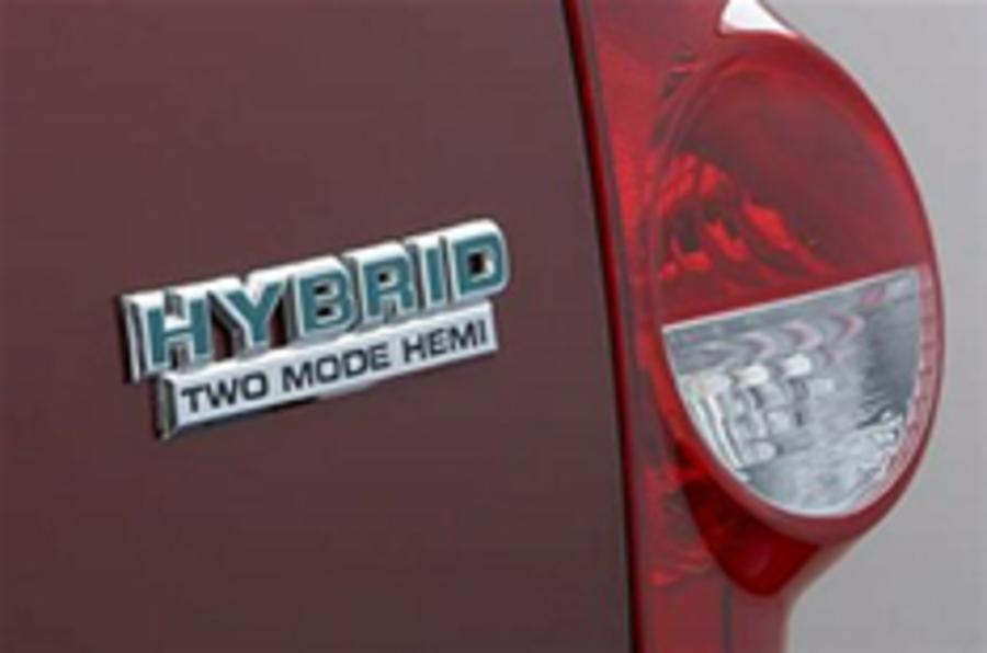 LA show: Chrysler's first hybrids