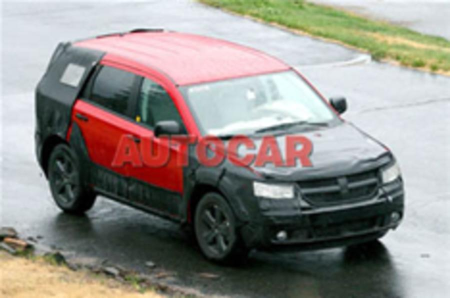 Dodge's secret seven-seater scooped