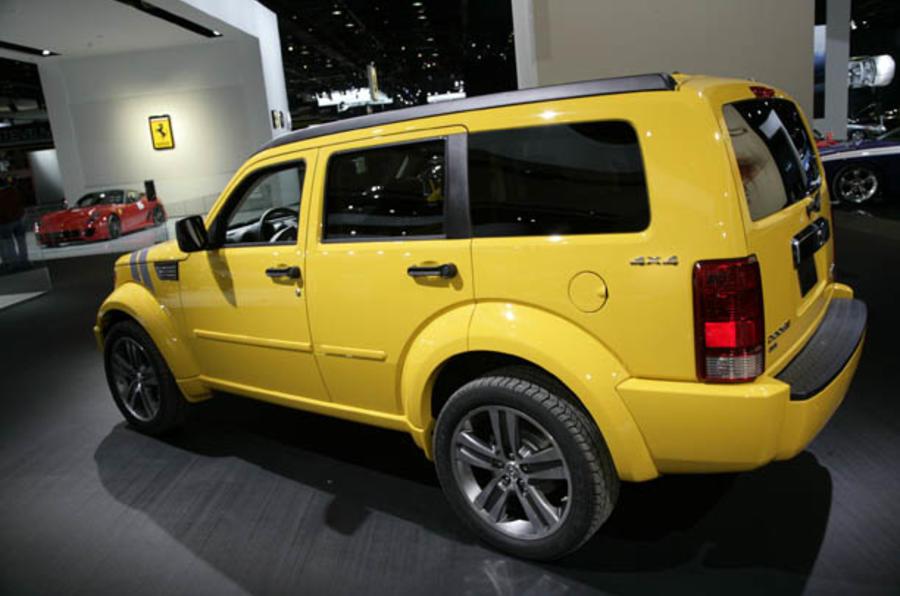 Detroit motor show: Dodge line-up