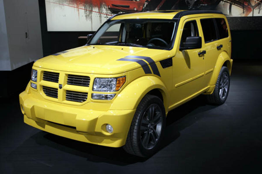 Detroit motor show: Dodge line-up