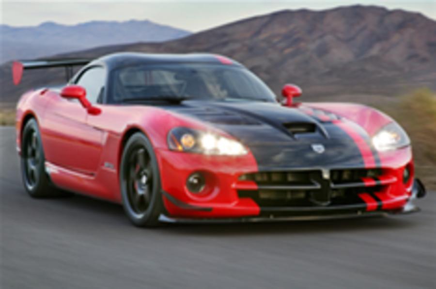 Viper to get Ferrari V10