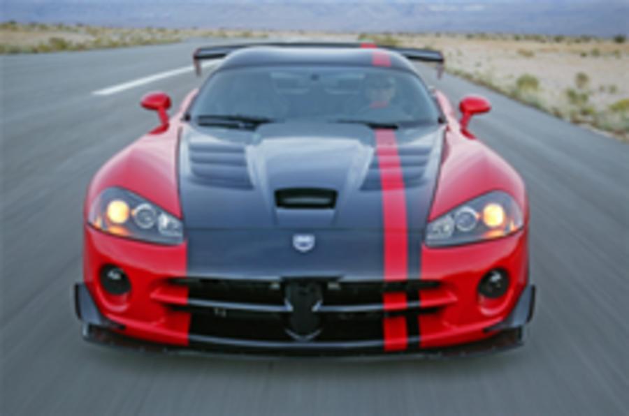 Dodge's new more venomous Viper