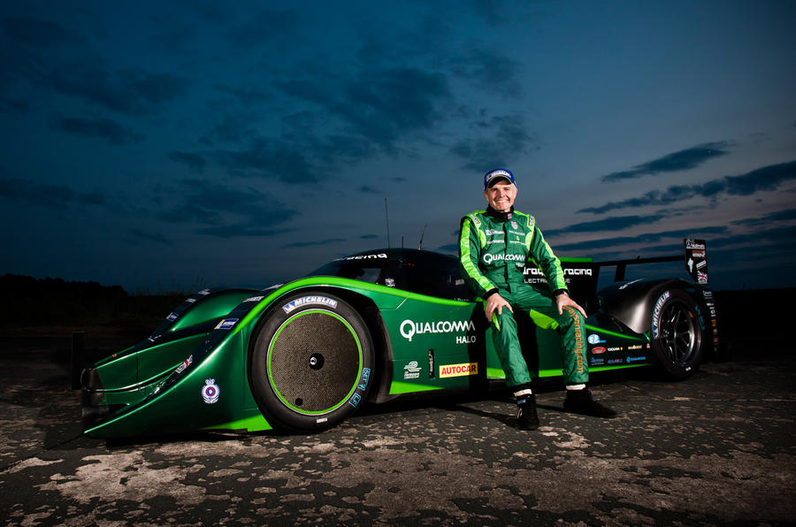 Drayson plots new EV record in Bonneville
