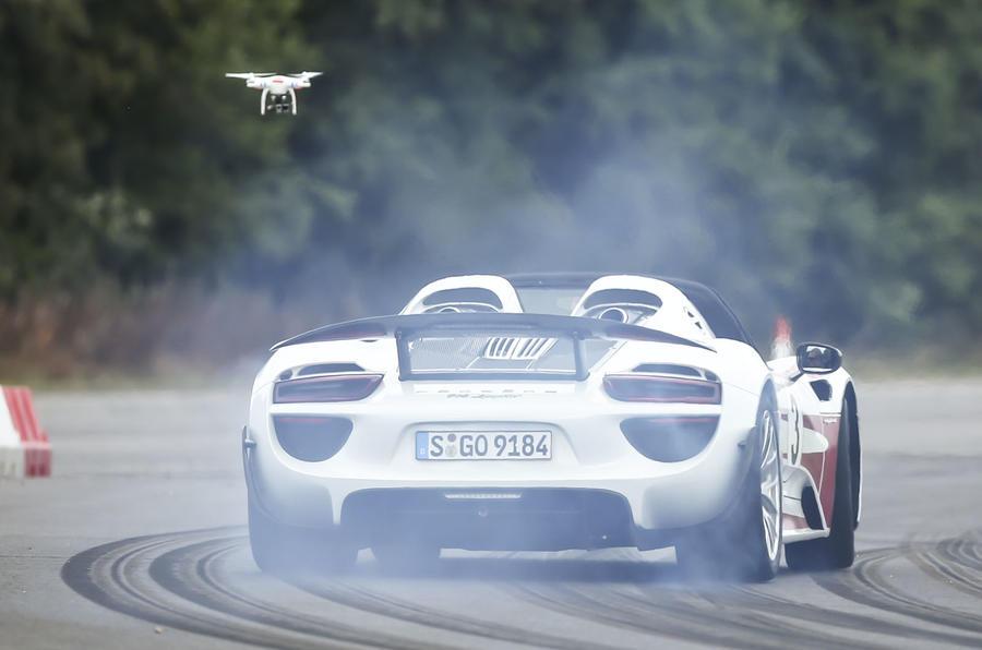 How We Shot The Mclaren Vs Porsche Vs Ducati Video From The Sky