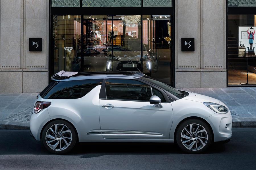 Citroën DS3 Cabrio side profile
