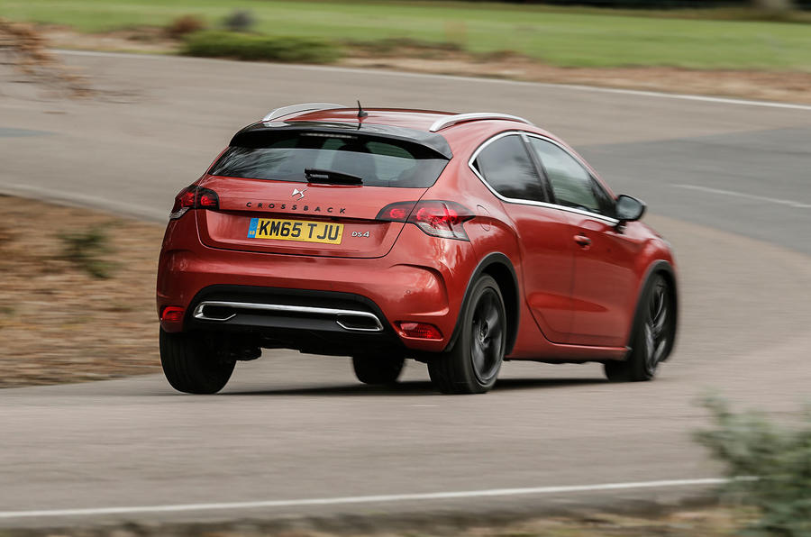 The DS 4 Crossback has greater suppleness compared to its predecessors