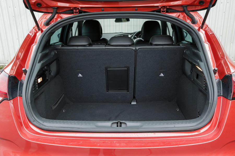 The small boot in the DS 4 Crossback, especially if you opt for the Denon sound system