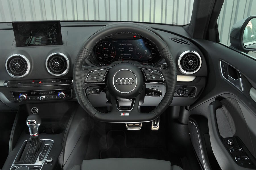Audi S3 2016-2020 road test review - dashboard