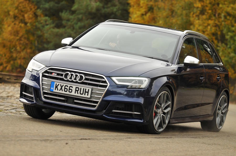 Audi S3 2016-2020 road test review - cornering front