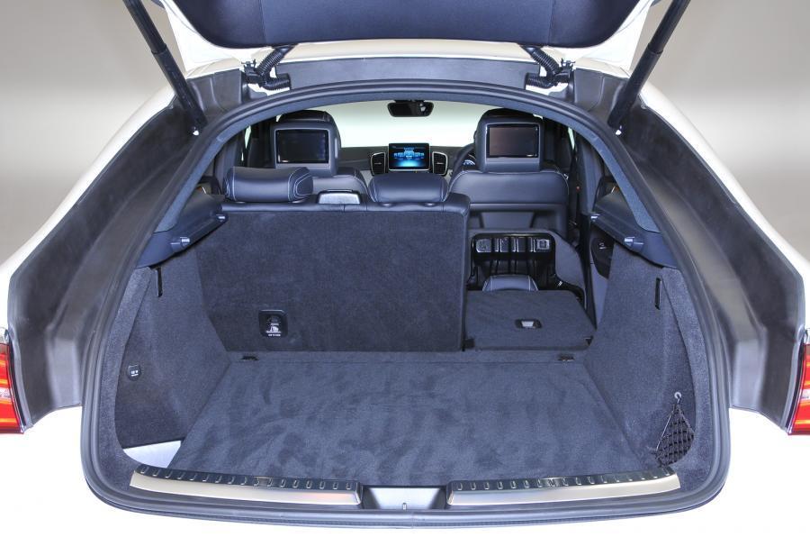Mercedes-Benz GLE Coupé boot space