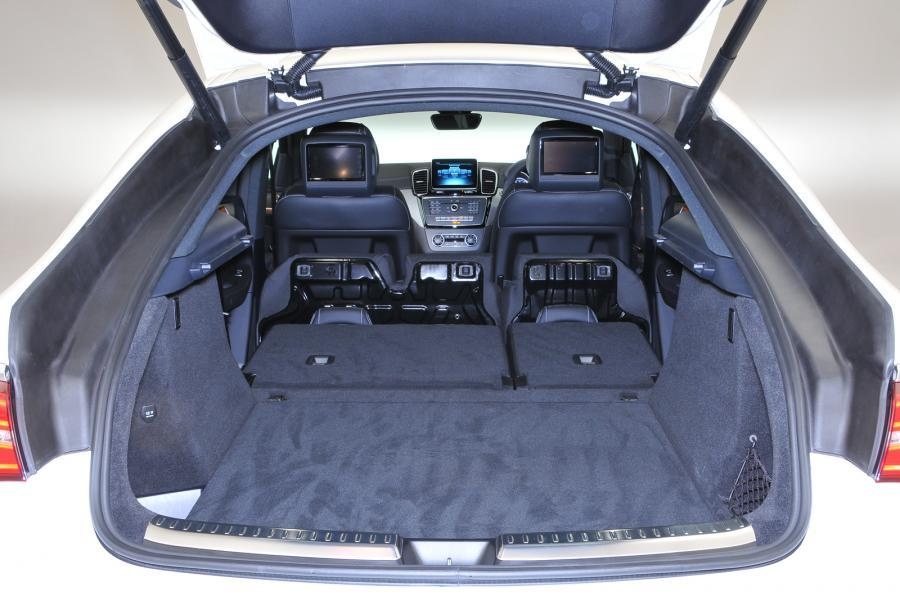 Mercedes-Benz GLE Coupé seat flexibility