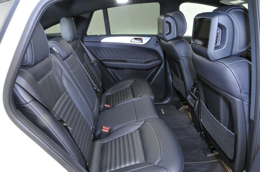 Mercedes-Benz GLE Coupé rear seats
