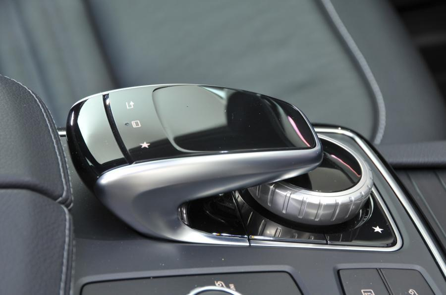 Mercedes-Benz GLE Coupé infotainment controller