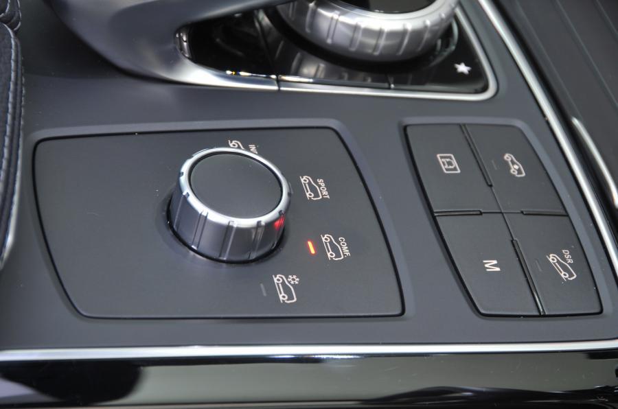 Mercedes-Benz GLE Coupé dynamic controls
