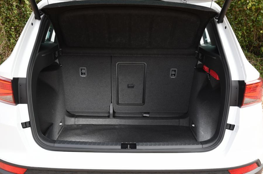 Seat Ateca boot space