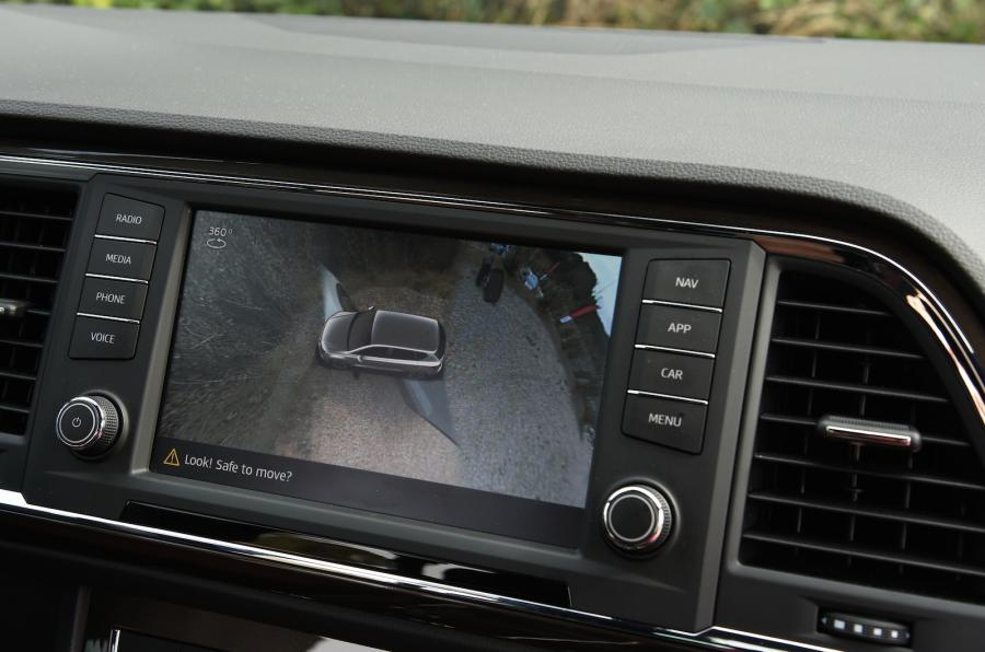 Seat Ateca all-round view camera