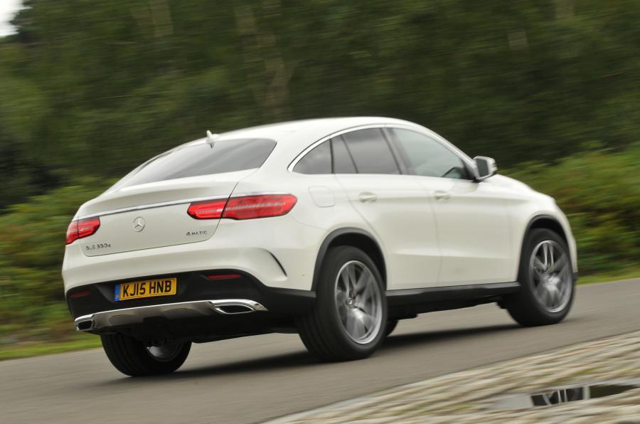 Mercedes-Benz GLE Coupé rear cornering