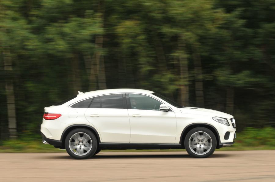 Mercedes-Benz GLE Coupé side profile