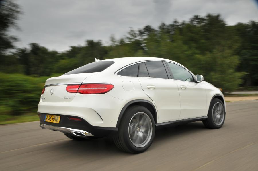Mercedes-Benz GLE Coupé rear