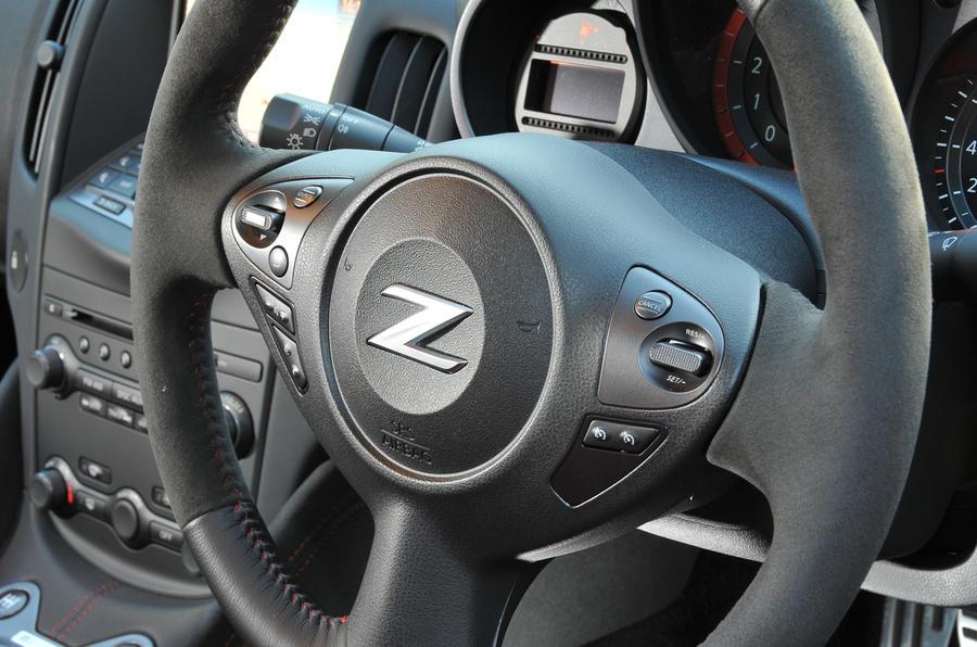 Nissan 370Z Nismo steering wheel