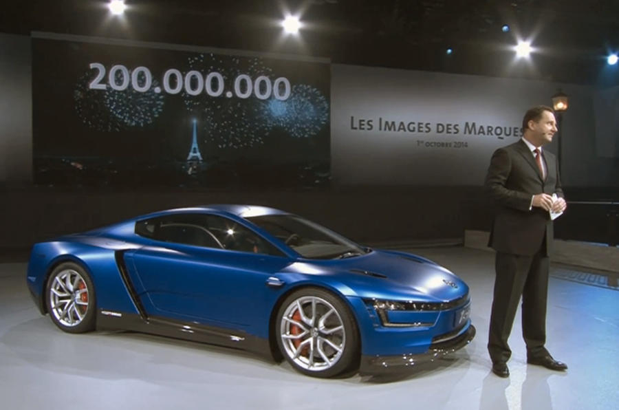 VW celebrates 200 millionth model with 200bhp XL1 Sport concept