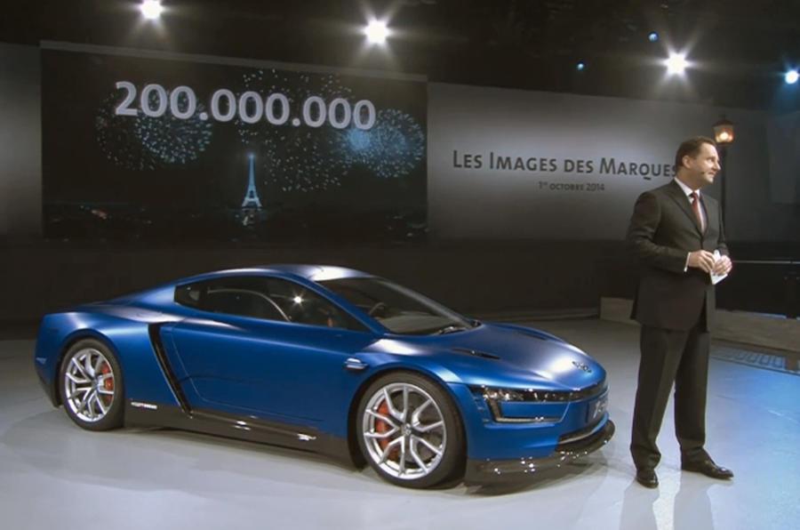 VW celebrates 200 millionth model with 200bhp XL1 Sport concept