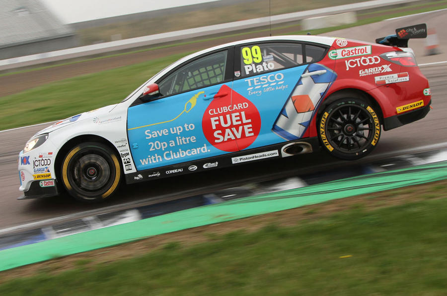 Driving the BTCC - how tyre technology is winning races