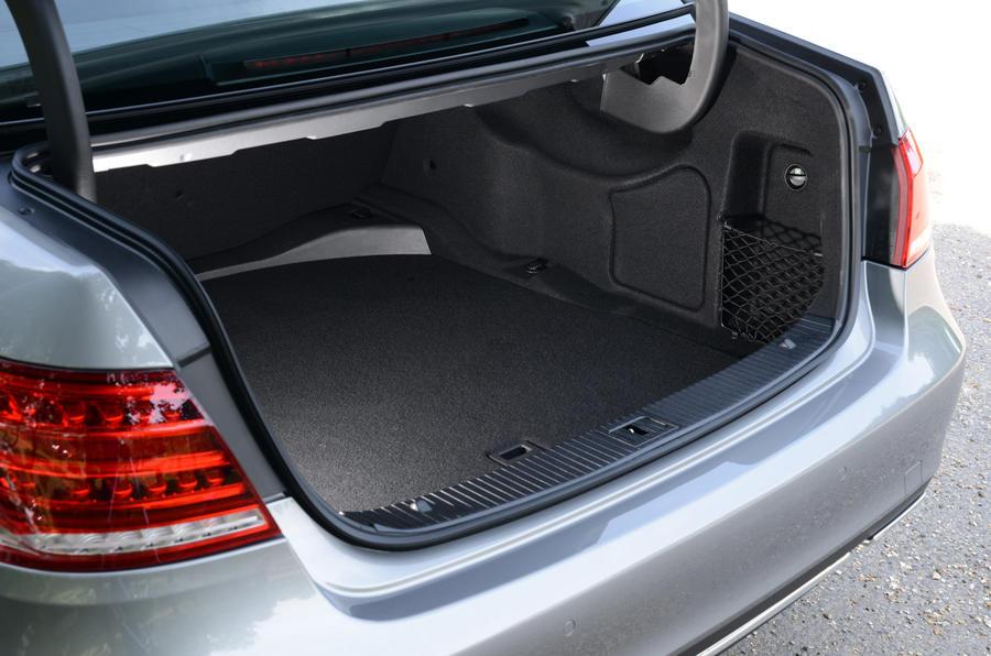 Mercedes-Benz E-Class boot space