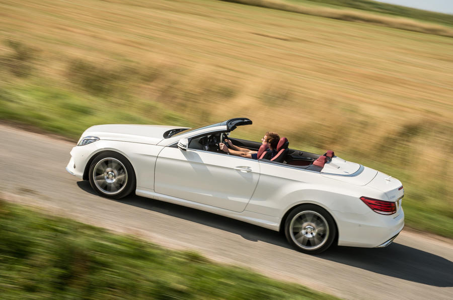 Mercedes-Benz E-Class Cabriolet side profile