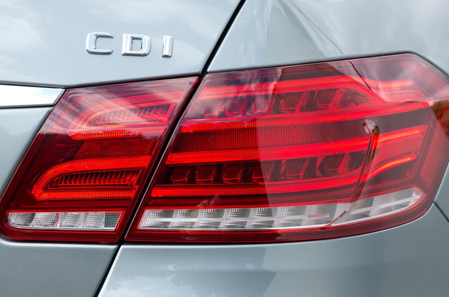 Mercedes-Benz E-Class rear light