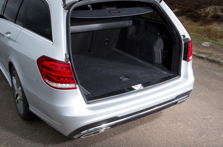 Mercedes-Benz E-Class Estate boot space