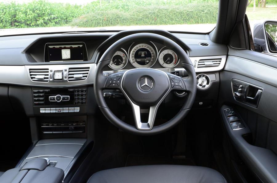 Mercedes-Benz E-Class dashboard