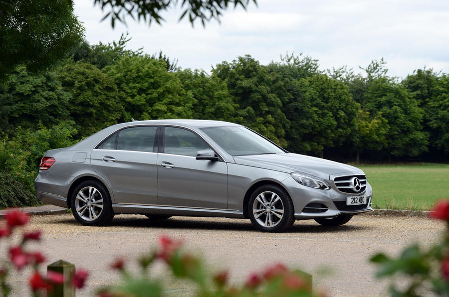 Mercedes-Benz E-Class side profile