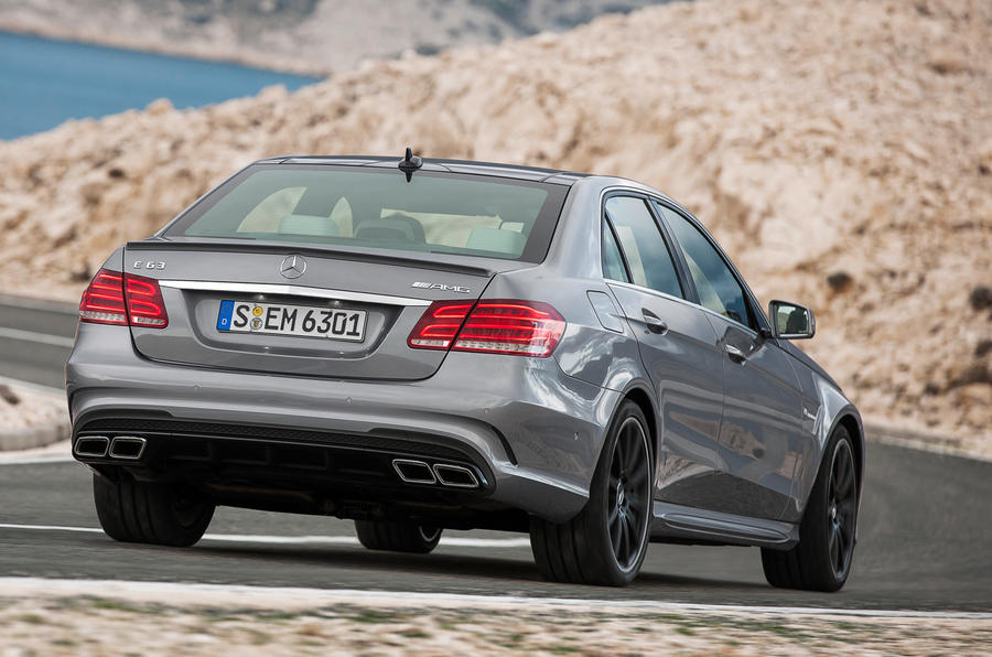 Mercedes-Benz E-Class rear cornering