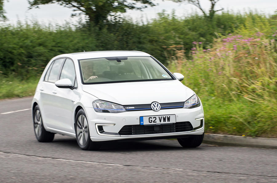 Driving a Volkswagen e-Golf shows the joys of engine braking