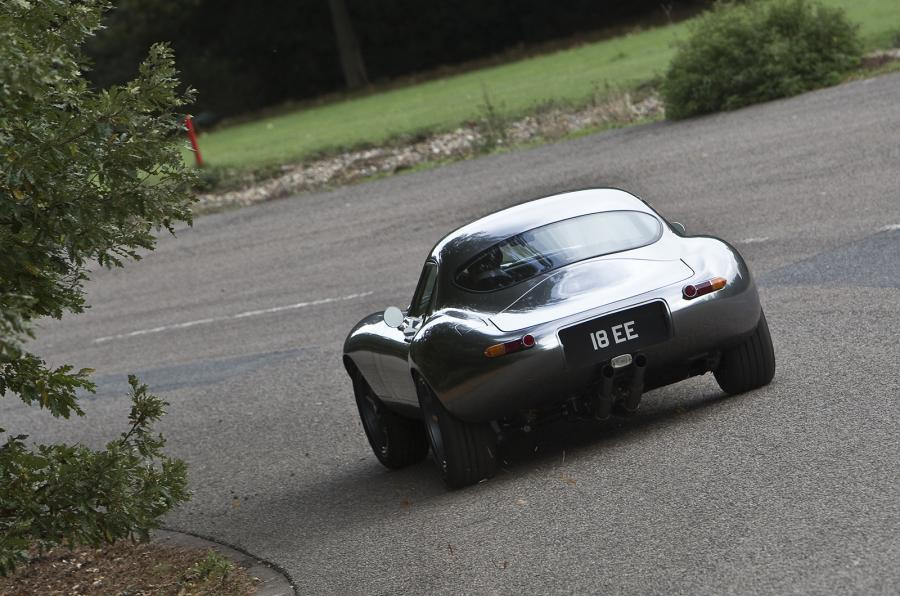 Eagle E-type GT Coupé rear cornering
