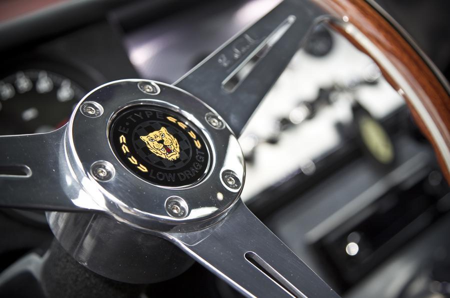 Eagle E-type GT Coupé badging