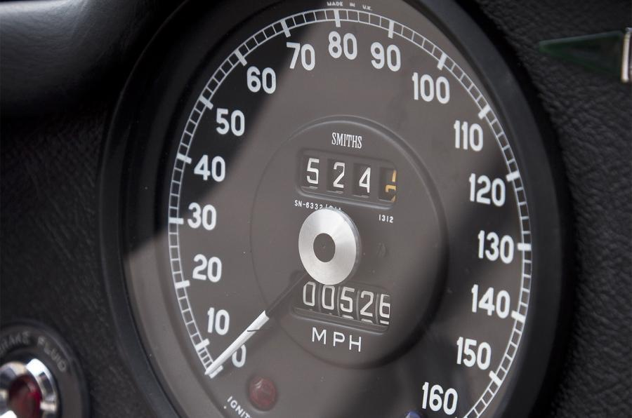 Eagle E-type GT Coupé speedometer