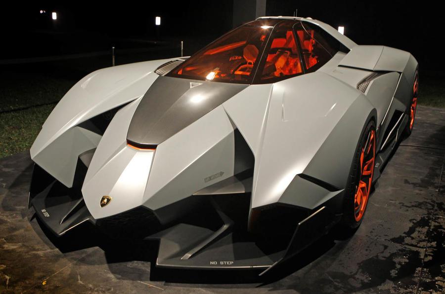 Lamborghini Egoista - new pictures