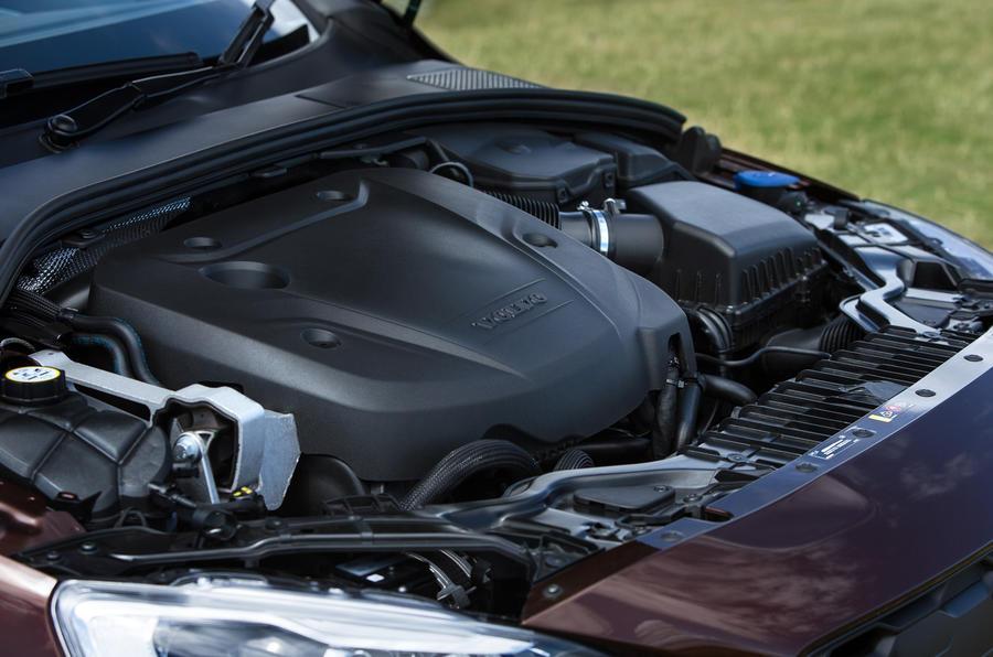 2.0-litre V60 Cross Country diesel engine