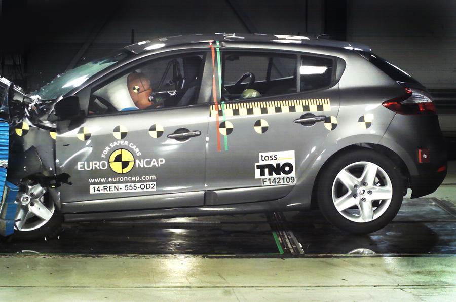 Renault loses top safety rating after Euro NCAP tests