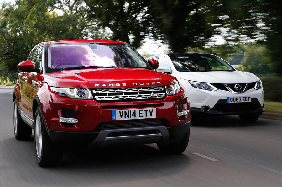 New versus used: Nissan Qashqai or Range Rover Evoque ...