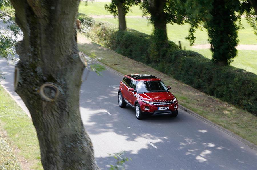 New versus used: Nissan Qashai or Range Rover Evoque?