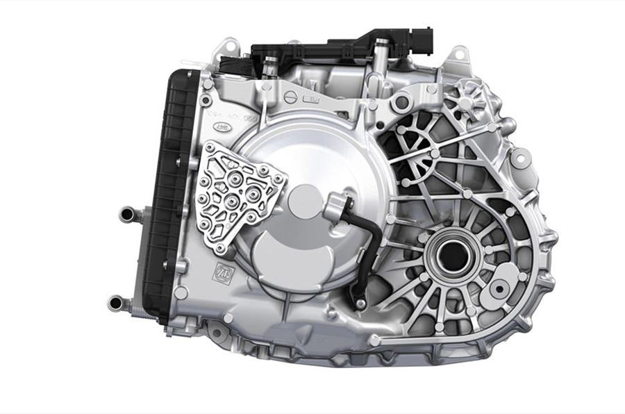 Land Rover's nine speed automatic gearbox