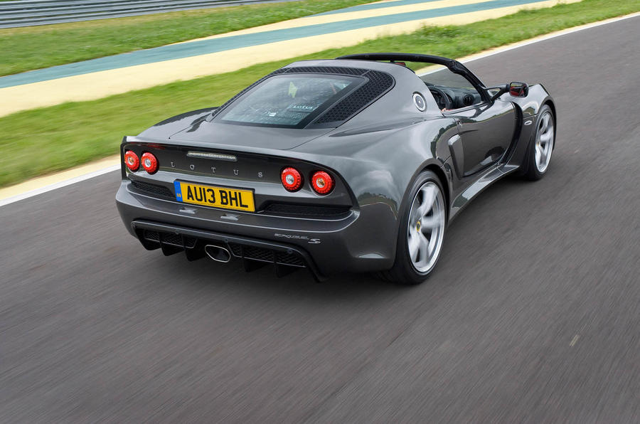 Lotus Exige S Roadster rear