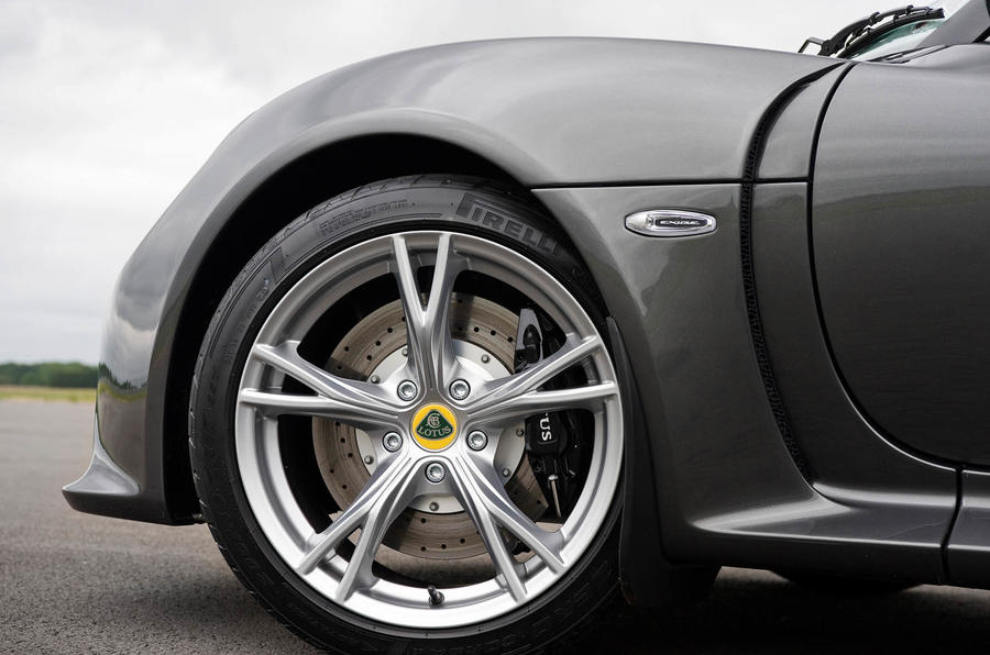 17in Lotus Exige S Roadster alloys