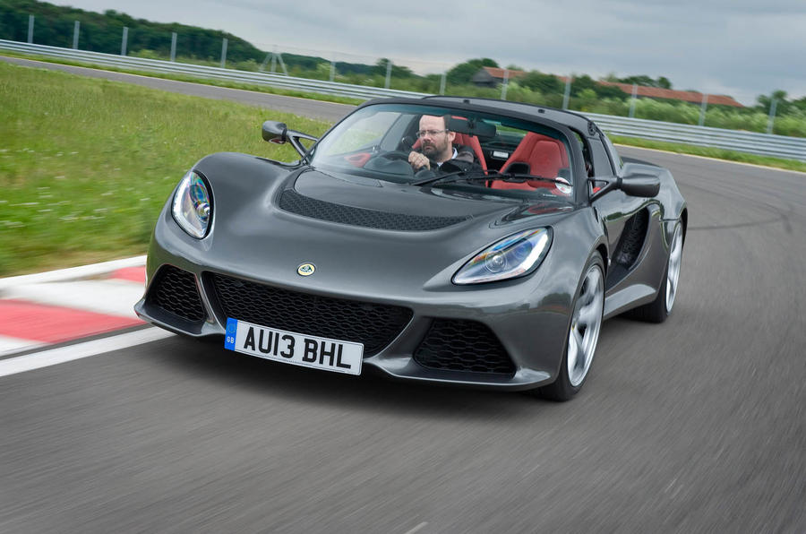 Lotus Exige S Roadster cornering