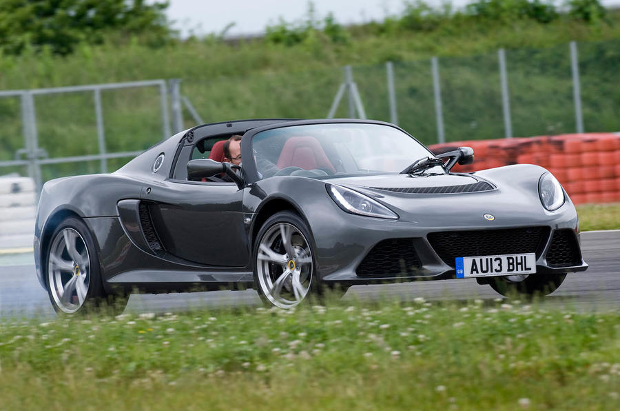 145mph Lotus Exige S Roadster